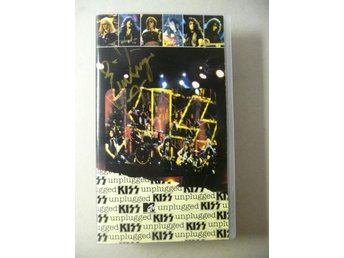 "KISS - SIGNERAD VHS ""UNPLUGGED"" - SIGNED"