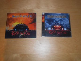 IRON MAIDEN - CD - ROCK IN RIO - 3D SLIPCASE BOX