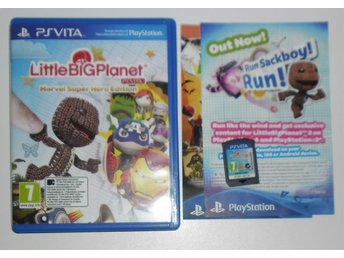 PlayStation VITA Little Big Planet Marvel Super Hero Edition