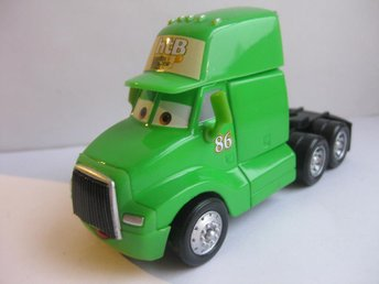Disney Cars Bilar Pixar - Mack Truck - HTB 86 Chick Hicks Truck