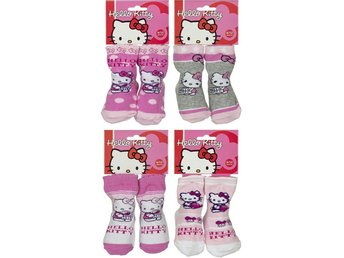 Hello Kitty Strumpor Baby 4-pack 0-6m