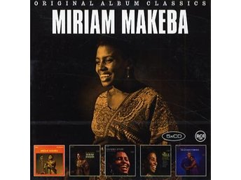 Makeba Miriam: Original album classics 1963-65 (5 CD)