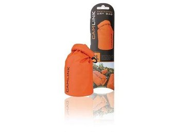 Camlink Outdoor Dry Bag Orange/Svart 2 l
