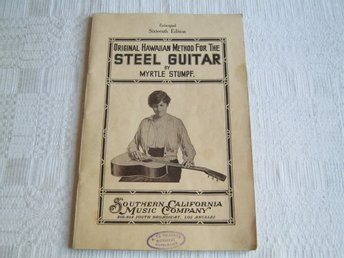 Katalog  ( Original Hawaiian Method For The STEEL GUITAR) 1915