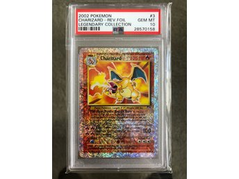 Charizard 3/110 Reverse Holo Legendary Collection PSA 10