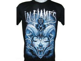 T-SHIRT: IN FLAMES  (Size S)