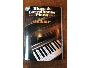 Blues & Barrelhouse Piano av Ann Rabson inkl DVD