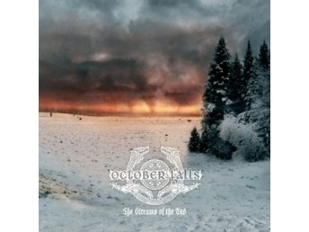 October Falls ‎–The Streams Of The End mlp 2007 black metal
