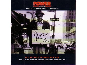 "Power Jamz vol. 1 / ""The hottest in Soul and R&B"" CD"