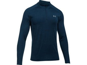 Under Armour Playoff LS 1/4 Zip tröja navy Small