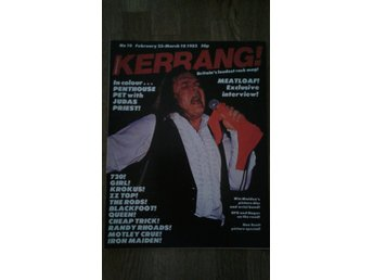 Kerrang # 10 feb-82. Queen. Cheap trick. Meat loaf m.m