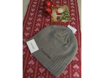 NY CALVIN KLEIN classic hat grey