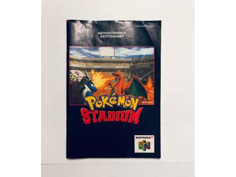 Pokemon Stadium med svensk text (Manual / NSWF / N64)