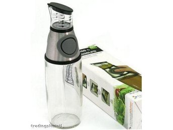 NY! Press & Measure Oil & Vinegar Dispenser !! As TV!!