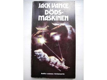 DÖDSMASKINEN Jack Vance AoK:s Science fictionserie 1975 FRI FRAKT!