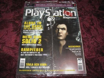 PLAYSTATION MAG NR 43 JUN I 2001 (ALONE IN THE DARK THE NEW NIGHTMARE) NY INPLAS