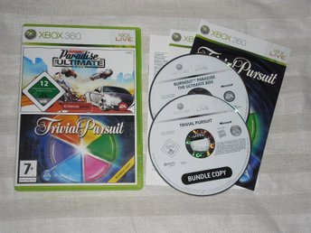 Xbox 360: Burnout Paradise + Trivial Pursuit