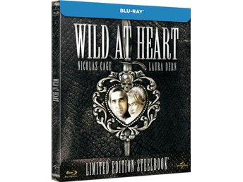 WILD AT HEART (Lmtd STEELBOOK 2500 ex!) Nicolas Cage 1990 David Lynch