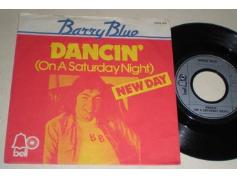 Barry Blue 45/PS Dancin´ on a saturday night 1973