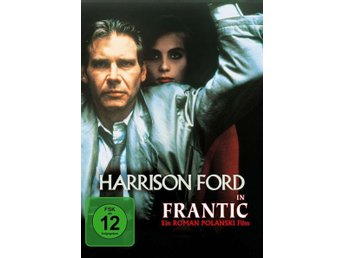 Frantic (1988) Roman Polanski med Harrison Ford, Betty Buckley