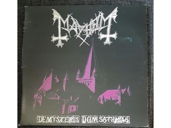 Mayhem - De Mysteriis Dom Sathanas FIRST PRESS, RARE