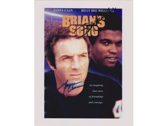 BRIAN'S SONG - JAMES CANN - BILLY DEE WILLIAMS PRE-PRINT AUTOGRAF FOTO