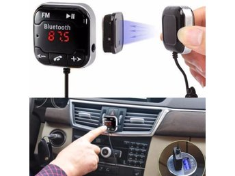 Car Kit Wireless Bluetooth MP3 Player FM Transmitter Handsfree USB LCD SD Remote - Govindapuram - Car Kit Wireless Bluetooth MP3 Player FM Transmitter Handsfree USB LCD SD Remote - Govindapuram