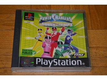 Power Rangers - Timeforce - Playstation PS1