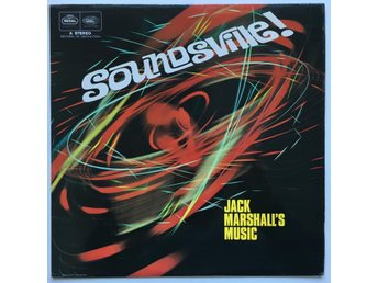 JACK MARSHALLS MUSIC Soundsville ! LP UK 1959