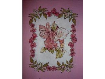 Blomsterälva: lapptäcke, bonad, kuddar... - Hässelby - Blomsterälva: lapptäcke, bonad, kuddar... - Hässelby