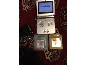 Game Boy Advance SP+Pokemon Gold & Crystal