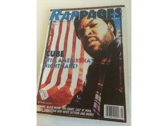 Rappages - March 1994 Ice Cube, Schoolly D, Too Short