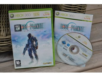 Lost Planet Extreme Condition Xbox 360 Komplett Fint Skick