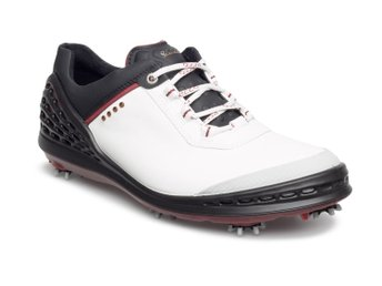 lowest price 974e1 52bf8 Ecco Cage golfsko vit svart herr stl 45