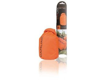 Camlink Outdoor Dry Bag Orange/Svart 5 l