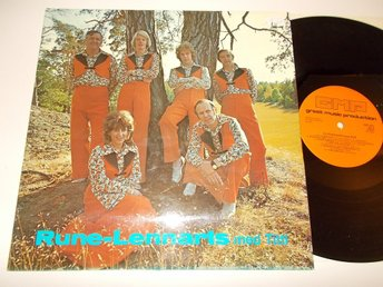 RUNE-LENNARTS - med Titti, LP GM-Production 1976 Läckert 70-tals omslag
