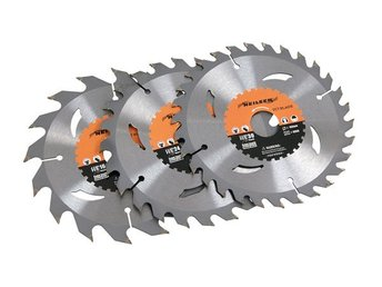 3pc TCT Circular Saw Blade 3pc 185mm 20 24 40 TPI FOR TABLE POWER SAW