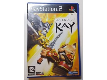 Legend of kay till playstation 2 ps2