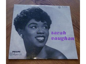 SARAH VAUGHAN 1st LP? Black Coffee 1949 Philips Jazz Classic