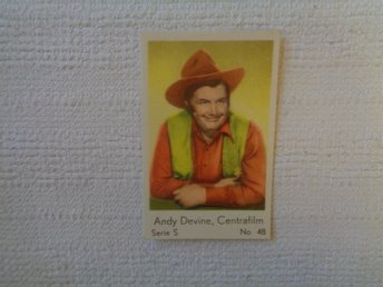 Nr 48 Andy Devine- Serie S 1957- Stor  text