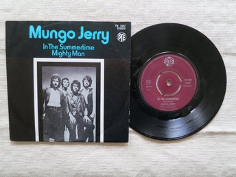 Mungo Jerry singel: In the summertime