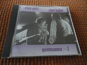 THE STEN GETZ QUARTET  WITH CHET BAKER -- QUINTESSENCE --VOLUME 2