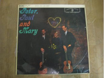 Peter, Paul And Mary-Peter, Paul And Mary (LP) - Trelleborg - Peter, Paul And Mary-Peter, Paul And Mary (LP) - Trelleborg