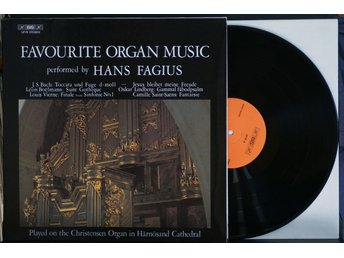 Hans Fagius – Favourite Organ Music – LP