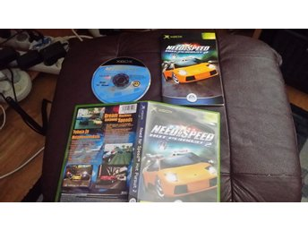 "Need For Speed ""hot prusuit 2"" med manual till xbox."