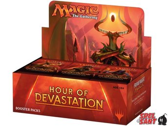 Magic Hour of Devastation Booster Display