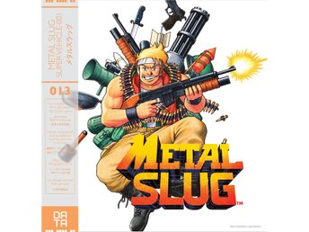 METAL SLUG SOUNDTRACK, OPAQUE YELLOW (Nytt) på Vinyl LP, SNK Neo Geo