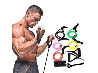 Fitness Resistance Bands Rope Exercie...