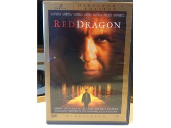 2DVDs - RED DRAGON (ANTHONY HOPKINS / EDWARD NORTON / HARVEY KEITEL mfl)