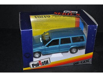 POLISTIL - VOLVO 760 GLE  1983  1/25  Made in Italy